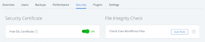 Bluehost offering free SSL for Security