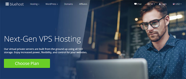 Bluehost VPS Hosting compared to Namecheap