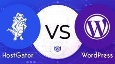 HostGator vs. WordPress