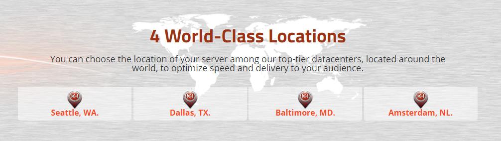 Server locations KH