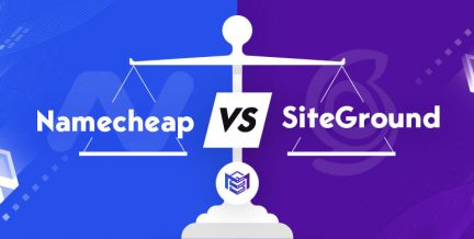 Namecheap vs SiteGround