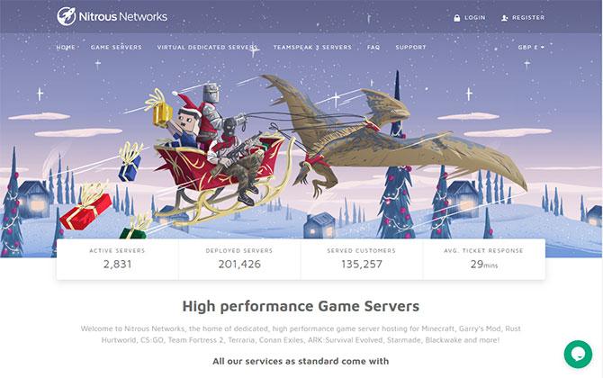 NitrousNetworks Homepage