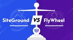 SiteGround vs FlyWheel Comparison