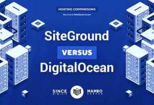 SiteGround vs. DigitalOcean