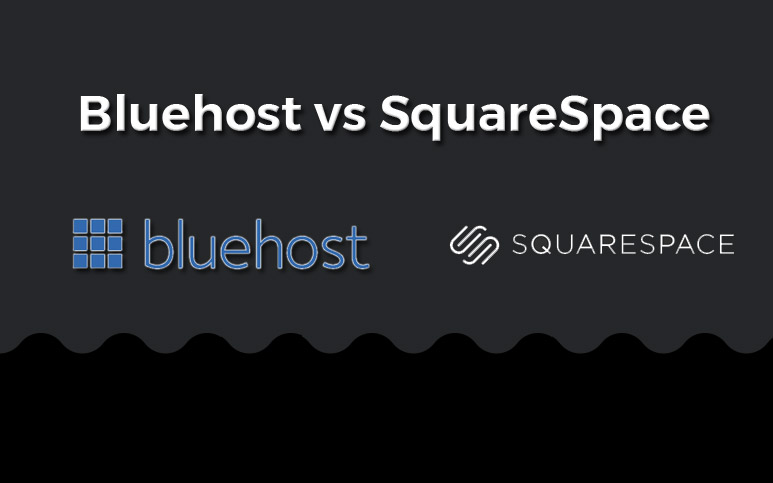 bluehost vs squarespace comparison