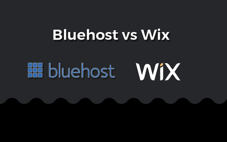 bluehost vs wix comparison
