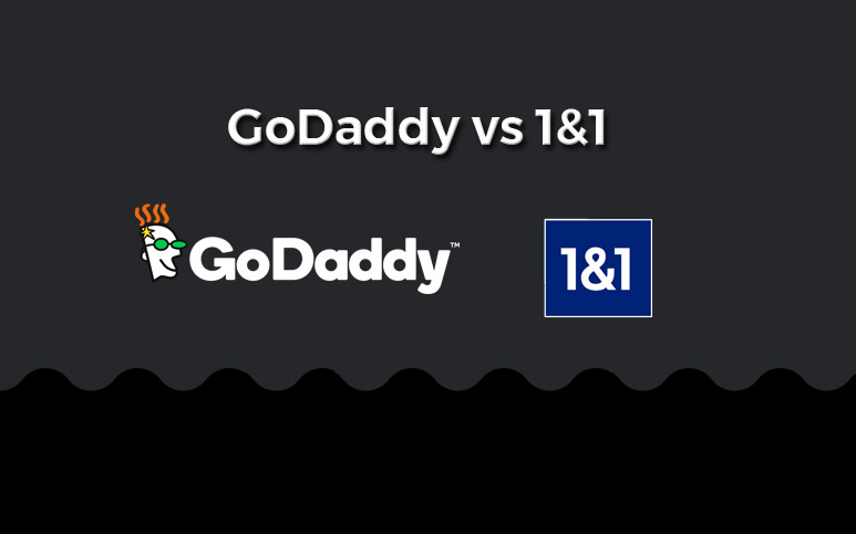 GoDaddy vs 1and1 Comparison For Web Hosting & Website Builders